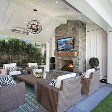 Vaulted Ceiling Tv Mount by Covered Patio Vaulted Ceiling With Fireplace Tv Intersting Finds