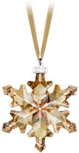 swarovski 1999 annual snowflake ornament z