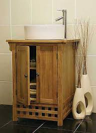 Oak Bathroom Cabinet Stunning Ideas Of Oak Bathroom Cabinets