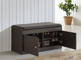 Bench Shoe Storage Amazon Com Baxton Studio Margaret Modern U0026 Contemporary Wood 2