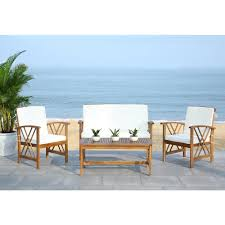 Patio Furniture Ventura Ca by Teak Patio Conversation Sets Outdoor Lounge Furniture The