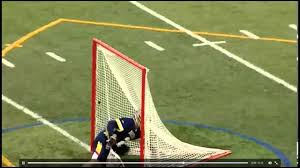 nick gorman jedi mind trick lacrosse goal youtube