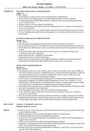 operations administrator resume samples velvet jobs