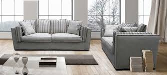 canape haut de gamme canapé 3 places en tissu riviera coup de soleil mobilier