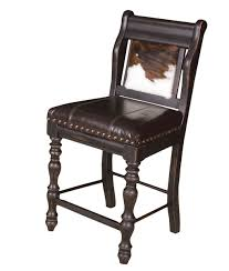 furniture leather seat and cowhide chairs for interesting dining