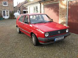 volkswagen fox 1990 vw golf mk2 1 6 1990 5 door reliable practical classic in