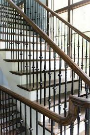 craftsman staircase wooden baluster railing systems pinterest
