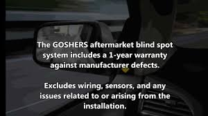 Motorhome Blind Spot Mirror Goshers Aftermarket Blind Spot Monitoring System Overview Youtube