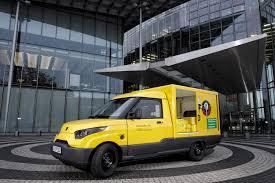 postal vehicles germans to build own unique electric vans for postal service