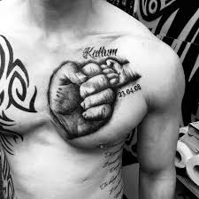 chest name tattoos tattoo collections
