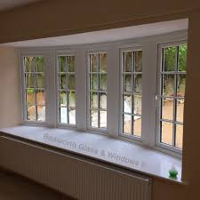 professional upvc glazing installers in weymouth portland we have just installed this lovely cottage style upvc bow window in osmington weymouth dorset today www bosworthglass com