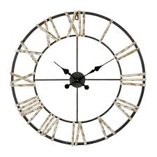 find the iron wall clock farmington by studio decor at michaels