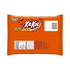 kit kat halloween candy amazon com kit kat halloween orange colored white creme wafer