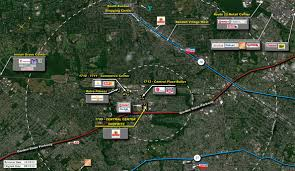 Garden State Parkway Map by Clark Nj Central Center Shoprite Retail Space Kimco Realty