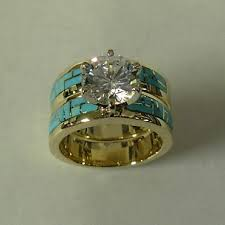 turquoise wedding rings best 25 turquoise engagement rings ideas on turquoise