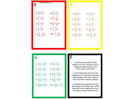 fractions mastery and problem solving by j2dutto teaching