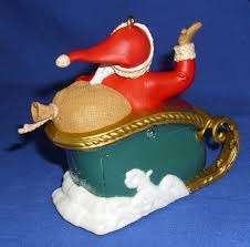 hallmark ornament countdown to 2012 santa sleigh light