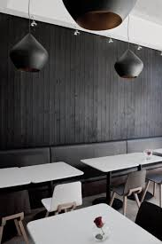 modern restaurant in black and white colors theme u2013 ubon