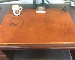 Desk Protector Pad by Leather Desk Pad Etsy
