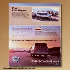 1980 ford econoline vans fdt 8013 rev 8 79 ebay