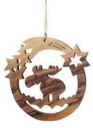 Scroll Saw Christmas Decorations - moose christmas decorations european moose stock images royalty