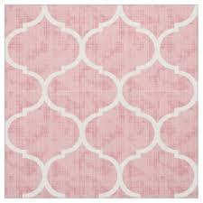 moroccan tile pattern fabric zazzle