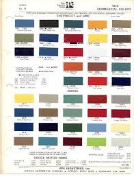 chart 2014 gm paint colors chart