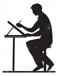 Engineering Drafting Table by 798 Drafting Table Stock Vector Illustration And Royalty Free