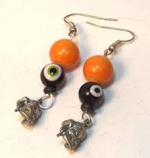 halloween pirate earrings linorstore jewelry u0026 kippah