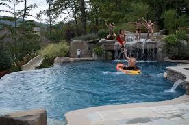 backyard pool beach entry nj pool company debuts new pool