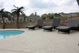 cool pool deck excellent photo showing application of krete kote
