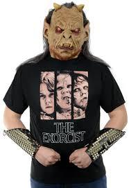horror movie the exorcist regan possessed t shirt or girlie