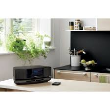 bose wave soundtouch iv wireless multi room music system black