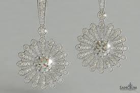diamond earrings nz deco diamond floral style diamond earrings new zealand