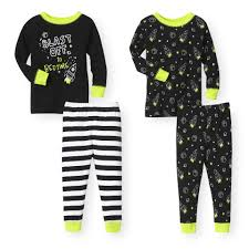 glow in the dark halloween pajamas baby u0026 toddler pajamas shop online u0026 save babies