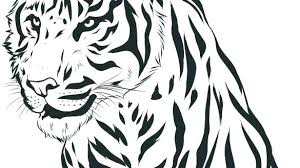 coloring page tiger paw coloring page of a tiger coloring pages tiger free tiger coloring