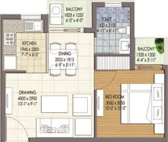 Icon Floor Plan by 555 Sq Ft 1 Bhk Floor Plan Image Krish Icon Available Rs 3 015