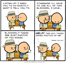 Cyanide And Happiness Memes - clever move http ift tt 2hhibey ensue hilarity pinterest