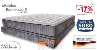richbond matelas chambre coucher 17 réduction richbond matelas beckendörff 5080dhs les soldes et