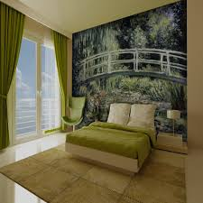 28 1 wall mural 1 wall forest path sun beam giant wallpaper 1 wall mural 1 wall giant wallpaper mural monet japanese footbridge 3