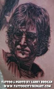tattoo city skin art studio tattoos celebrity john lennon