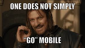 Mobile Meme - 3 step google mobilepocalypse survival hack in marketing we trust