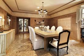 Hamptons Inspired Luxury Dining Room  Before And After Within - Luxury dining rooms