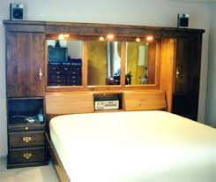 Cherry Stained Alder Wall Unit Bedroom Ideas Pinterest Walls - Bedroom furniture wall unit
