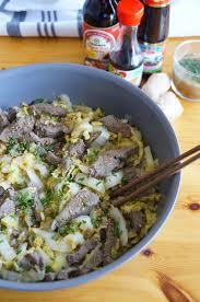 cuisine asiatique boeuf the cook wok de chou chinois et boeuf mariné cuisiner
