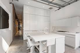 apartment with a retractable interior wall apartment with a