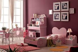 Modern Teenage Girls Bedroom Ideas With Dark Purple Wall Color - Bedroom colors for girls
