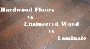 best hardwood flooring vs laminate with engineered hardwood