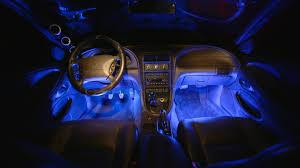 Led Strip Lights For Car Interior by Popular Colors Of Lighting Your Car U0027s Interior U2013 Ledglow Lighting Blog