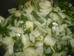 cuisiner blette salade de blettes au cumin cuisine copines and co